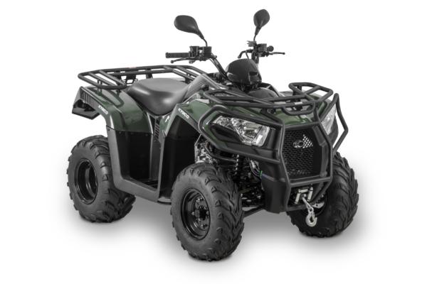 Kymco 2021: MXU 300 T3b vert R45