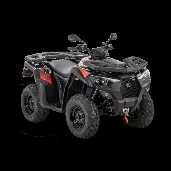 Kymco 2021: MXU 550i T3b Noir R45