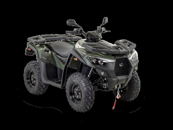 Kymco 2021: MXU 700i T3b R45 Vert