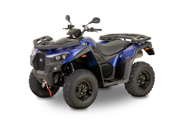 Kymco 2021: mxu 550i EPS T3b indigo mat L45