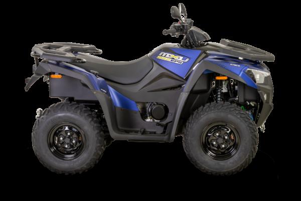 Kymco 2021: mxu 550i EPS T3b indigo mat R180
