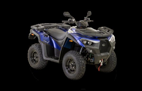 Kymco 2021: mxu 550i EPS T3b indigo mat R45
