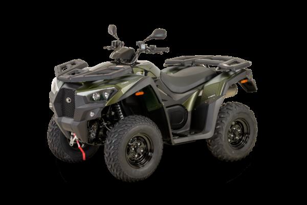 Kymco 2021: mxu 550i EPS T3b mat green L45