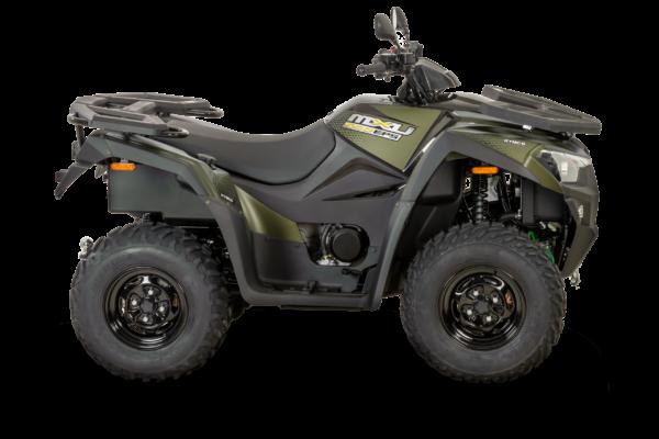 Kymco 2021: mxu 550i EPS T3b mat green R180