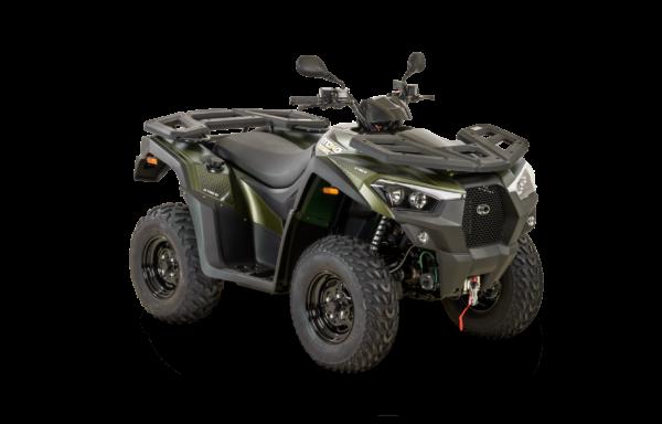 Kymco 2021: mxu 550i EPS T3b mat green R45